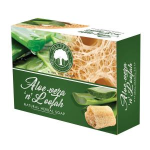Aloevera & Loofah Soap