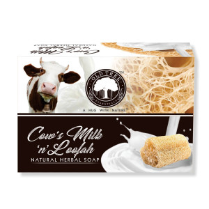 Cow's milk & Loofah Soap