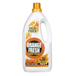orange fresh hand wash